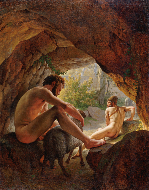 , 'Ulysses fleeing the Cave of Polyphemus,' 1812, Statens Museum for Kunst