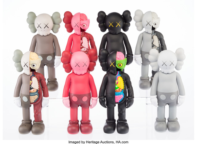 KAWS, 'KAWS Companion (Open Edition) (set of eight)', 2016, Heritage Auctions