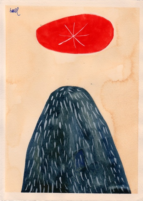 , 'Blue Mound with Red Ellipse #1,' 2012, The Road Gallery