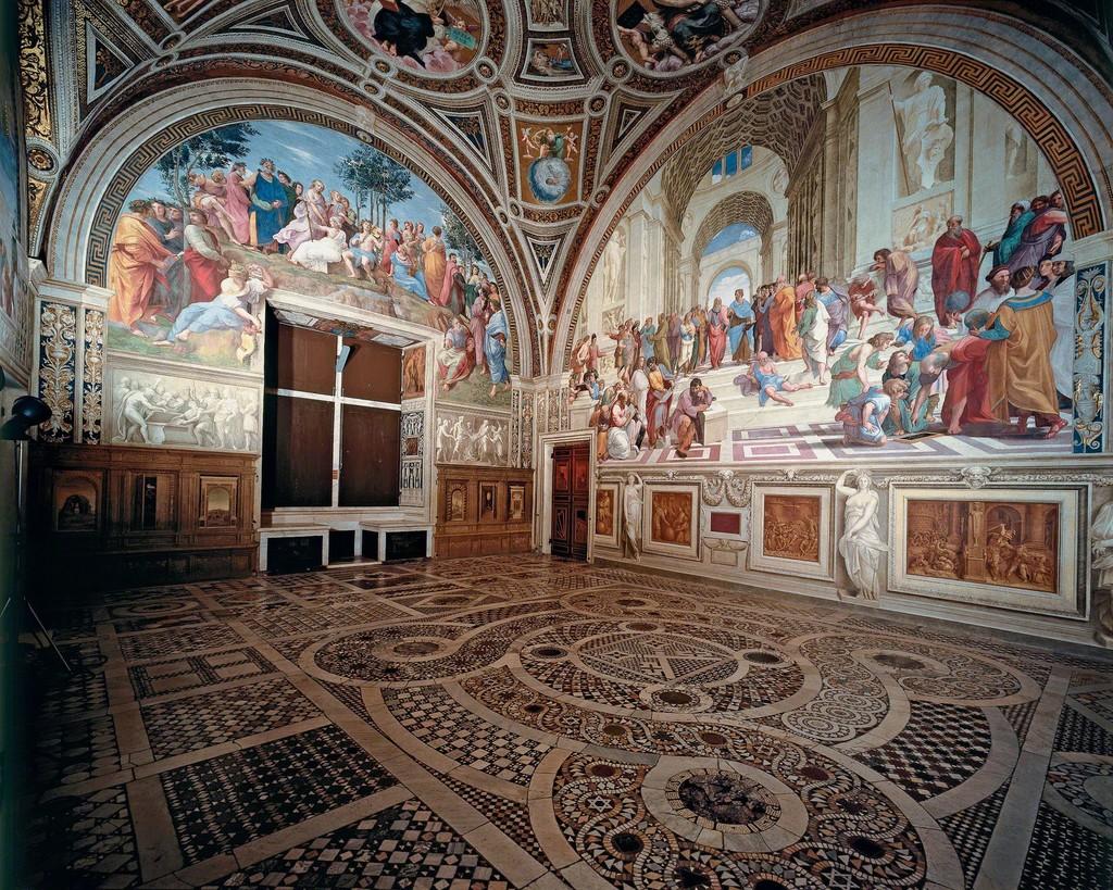 Raphael   Stanza della Segnatura (1510-1511)   Artsy