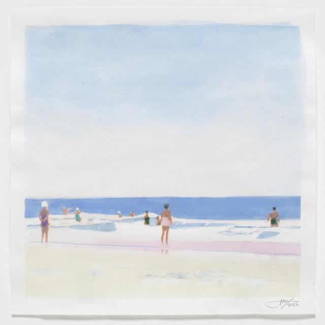 , 'August Beach,' 2016, Reynolds Gallery