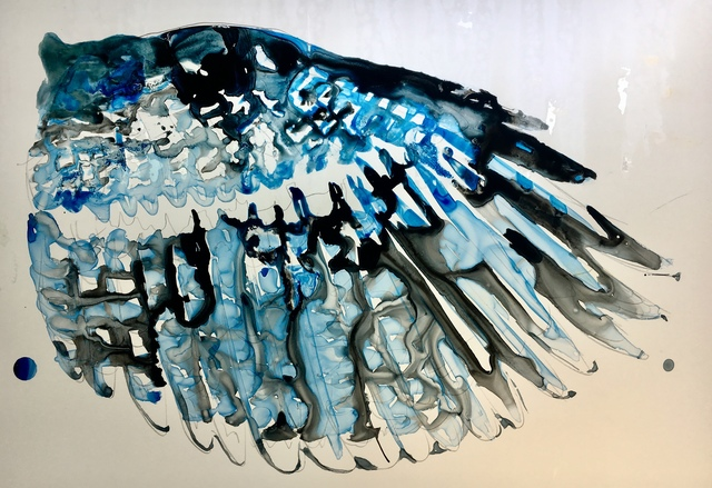 Mark Adams, 'Blue Jay Wing', 2019, The Schoolhouse Gallery