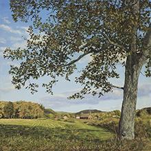 Jeff Gola, 'The Mill River Valley, October', 2018, William Baczek Fine Arts