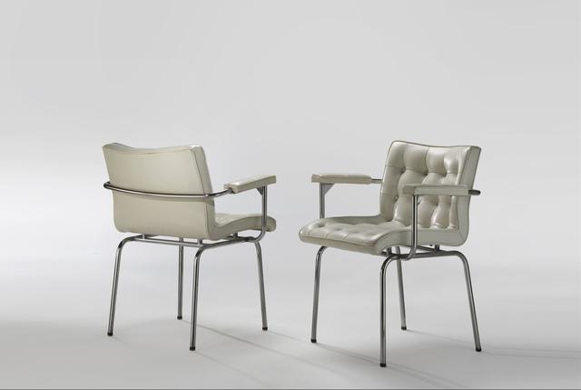 , 'Pair of Capitonnées Armchairs,' 1960, Demisch Danant