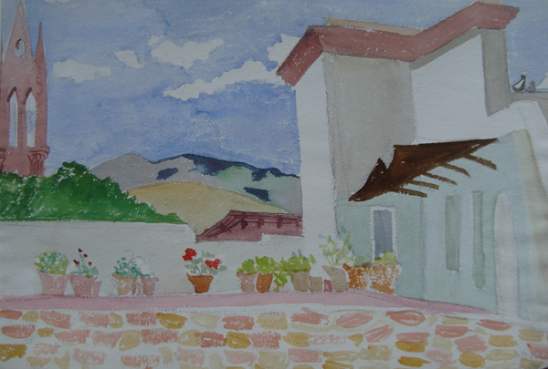 , 'Mexican Rooftops,' 1946, Childs Gallery