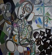 Maria Zerres, 'In Damaskus (Sigmar für Dich)', 19.01.2011, Galerie Brigitte Schenk