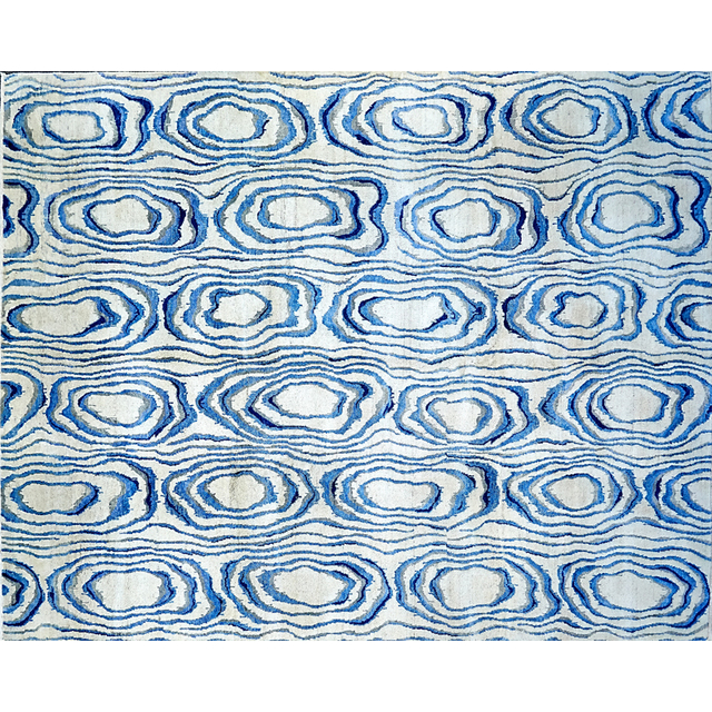 'Contemporary Wool Rug With French Accents', Rago/Wright