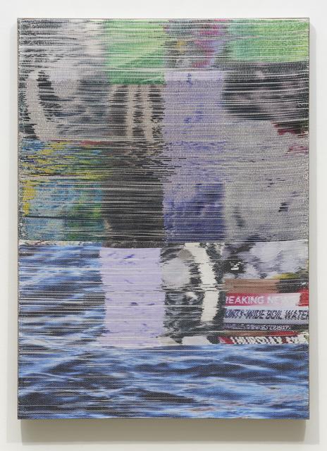 Margo Wolowiec, 'Purple Rain I', 2018, Carrie Secrist Gallery