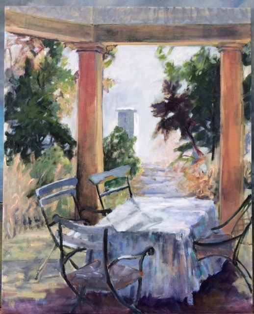 Rebecca Thompson, 'The Only Table and Chairs', Greg Thompson Fine Art