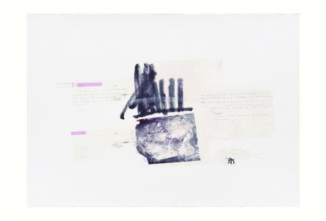 , 'Serie Cortazar, Monoprint M,' 2015, Artemisa Gallery