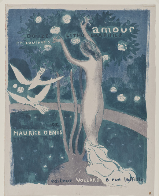 , 'Frontispiece to the album Amour,' 1911, Hammer Museum