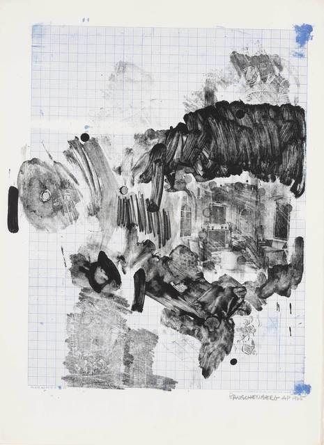 Robert Rauschenberg, 'Visitation I (Foster 29)', 1965, Doyle