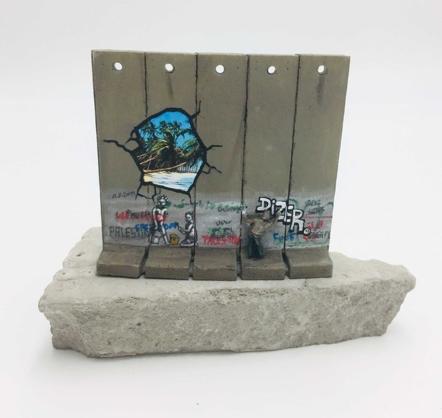 Banksy, 'Walled Off Hotel - Wall Sculpture', 2018, Lougher Contemporary Gallery Auction