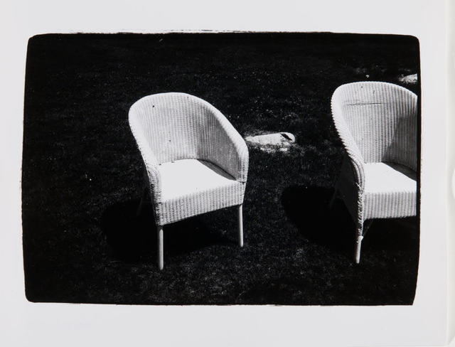 , 'Andy Warhol, Wicker Chairs in Montauk,' , Hedges Projects