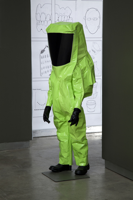 , 'HazMat Suits for Children,' 2012, bitforms gallery