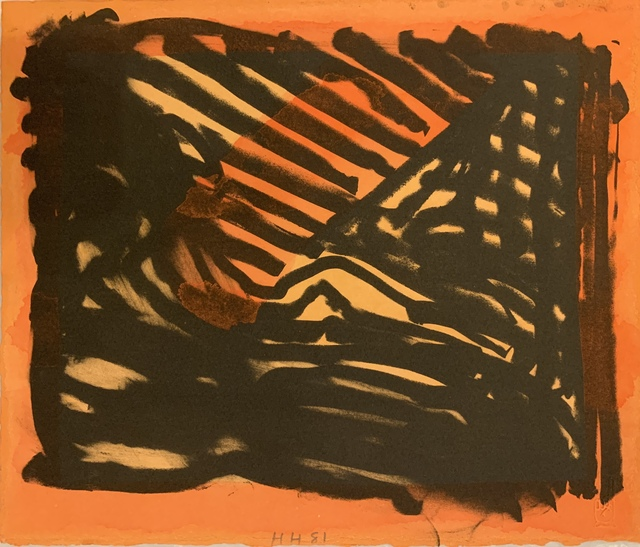 Howard Hodgkin, 'Red Eye', 1980-1981, Sims Reed Gallery