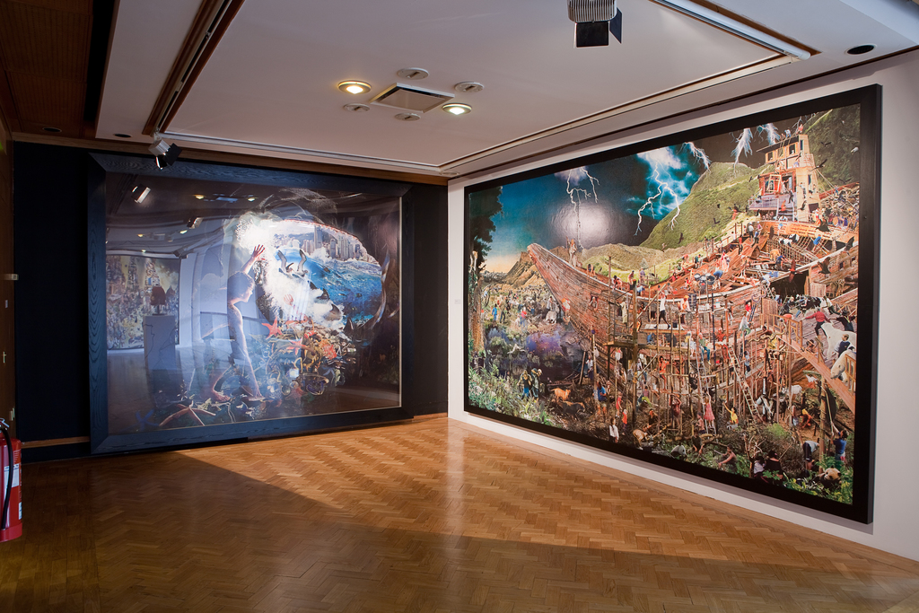 Installation view of Precious Light, 2011