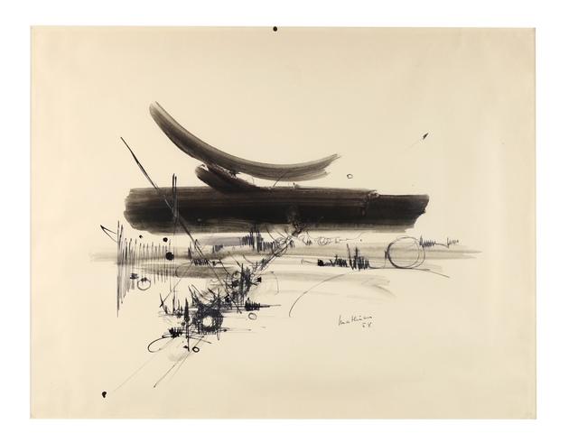 , 'COMPOSITION,' 1958, Galerie Francesco Vangelli de'Cresci