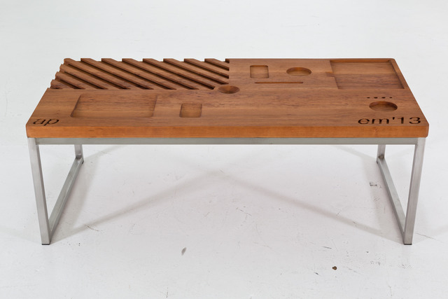 , 'Numerical Control Table,' 2013, Nina Johnson