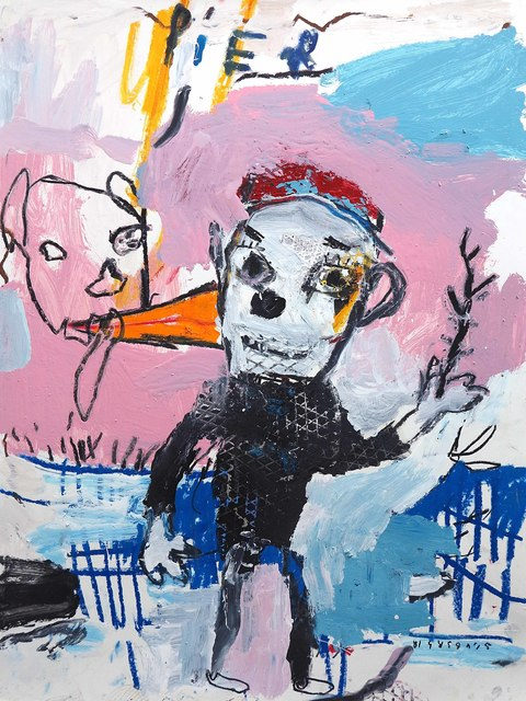 , 'Mr. Pier,' 2018, Galerie Heike Strelow