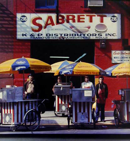 , 'Sabrett Hot Dog Vendors / Headquarters, Sabrett Frankfurters,  New York, N.Y.,' 1974, PDNB Gallery