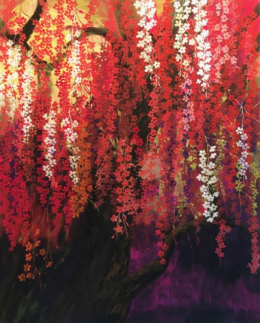 , 'Fire Cherry,' 2018, BoxHeart