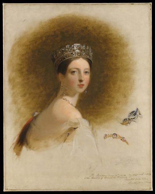 Thomas Sully, 'Queen Victoria', 1838, The Metropolitan Museum of Art