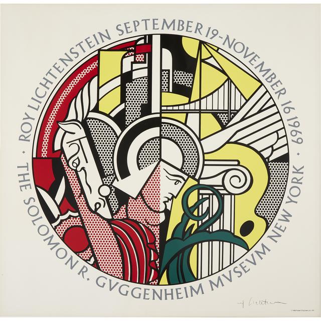 Roy Lichtenstein, 'The Solomon R. Guggenheim Museum (Poster)', 1969, Freeman's