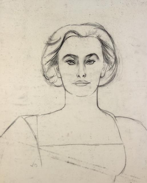 , 'Study for Elena in White,' , Alexandre Gallery
