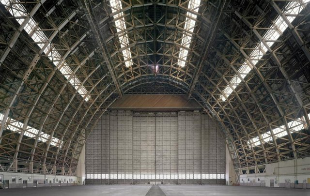 , 'Hangar No. 2, Marine Corps Air Station Tustin, California,' 2015, Bau-Xi Gallery