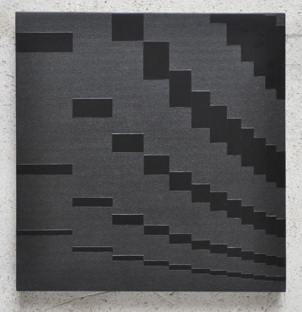 , 'Pour saluer Pierre Soulages no.1545,' 2010, Galerie Lahumière