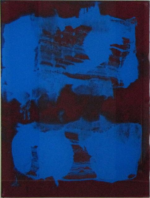 , 'Flecken, Streifen, Felder (blaue Felder),' 2010, Galerie SOON