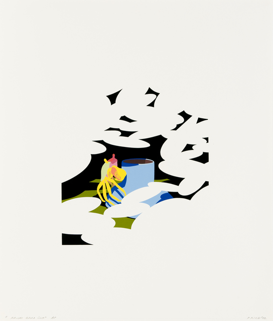 Ken Price, 'Kauai Crab Cup', 1972, Print, Color screenprint, Brooke Alexander, Inc.
