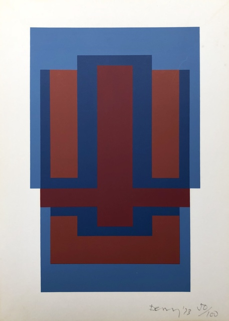 Robyn Denny, 'Untitled (from Eighteen Small Prints)', 1973, Stubbs Fine Art