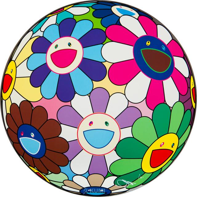 Takashi Murakami, 'Flower Ball (Dumpling)', 2013, Kumi Contemporary / Verso Contemporary