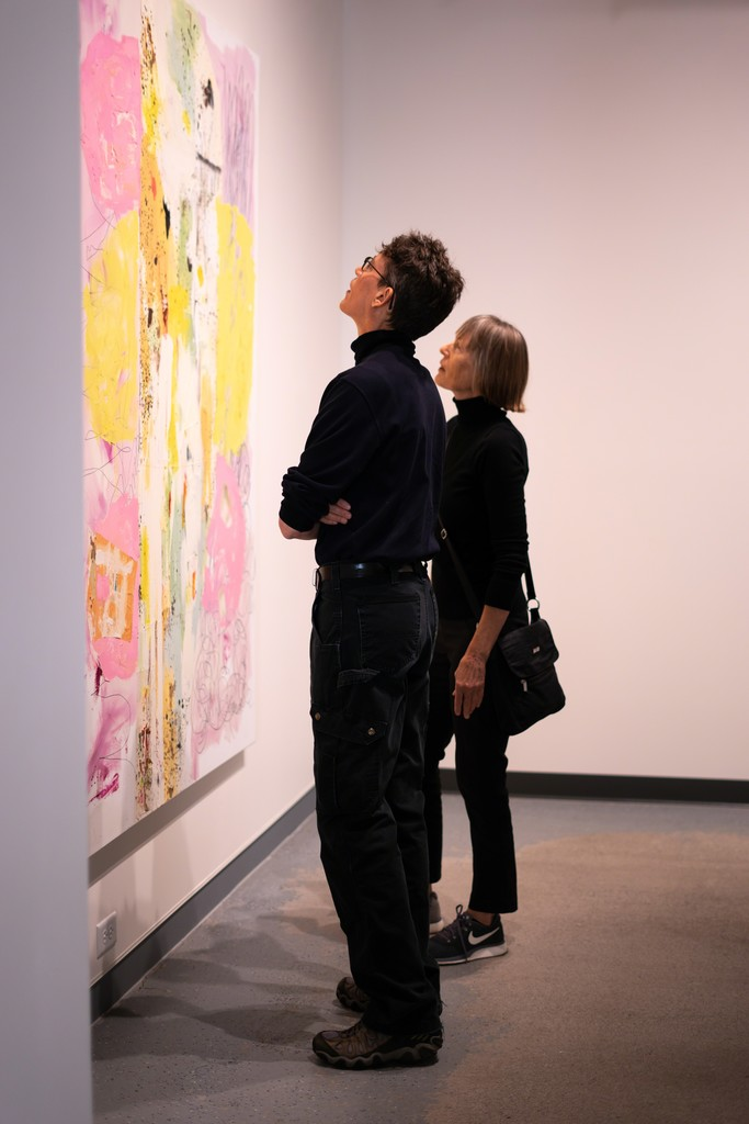 Opening Reception, enthralled viewers!