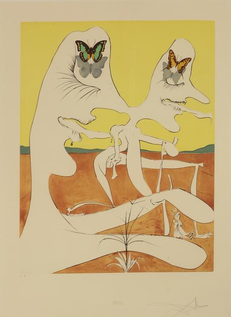 Salvador Dalí, 'Butterflies Of Anti-Matter', Sworders