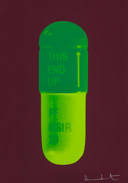 Damien Hirst, 'The Cure - Chocolate/Emerald Green/Lime Green', 2014, Rhodes