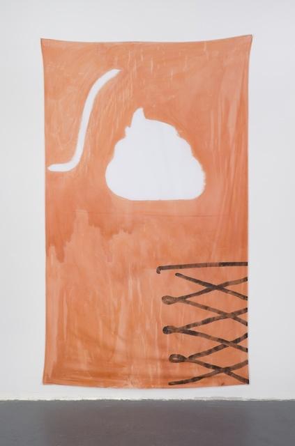 , 'Late Checkout (orange),' 2015, Simone Subal