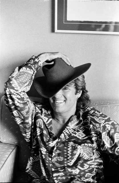 Michael Putland, 'George Michael of Wham in Sydney, Australia, January 1985', 1985, ElliottHalls