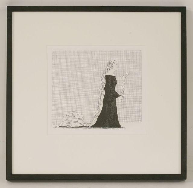 David Hockney, 'The Older Rapunzel (Tokyo 81)', 1969, Print, Etching with aquatint, Sworders