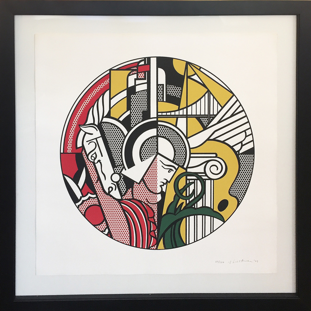 Roy Lichtenstein, 'The Solomon R. Guggenheim Museum Poster', 1969, Hamilton-Selway Gallery Auction