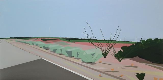 , 'Near the Pecos River,' 2015, Octavia Art Gallery