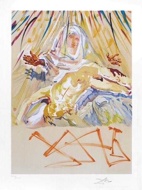 Salvador Dalí, 'La Pieta Nera (Black Madonna)', 1974, Gregg Shienbaum Fine Art
