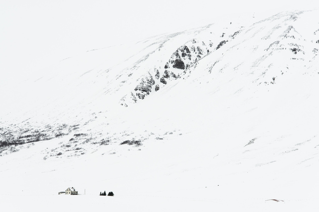 , 'Snow Drawing (no 5166) House with Mountain,' , Fabrik Projects Gallery