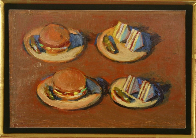 , 'Four Sandwiches,' ca. 2003, Tasende Gallery