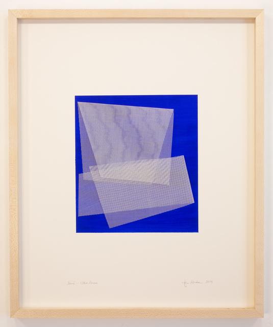 Tom Henderson, 'Moiré - Ultra marine', 2019, Galerie Dutko