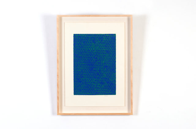 , 'Blue on green ,' 2001, H.ART COLLECTIVE