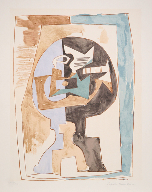Pablo Picasso, 'Gueridon et Guitare, 1920', 1979-1982, Print, Lithograph on Arches paper, RoGallery