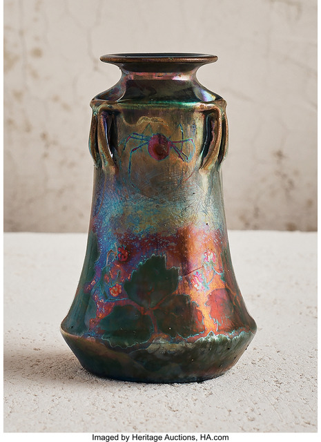 Unknown Artist, 'Vase with Spider Motif', circa 1912, Heritage Auctions